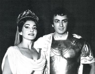 Callas et Corelli - Norma Opera Paris 1964